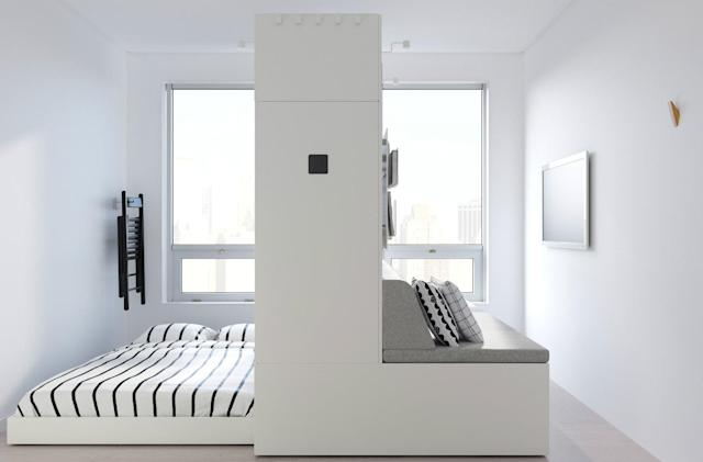 IKEA is working on robotic furniture for small apartments