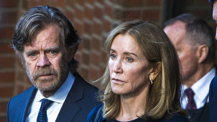 Felicity Huffman enters prison for college scandal