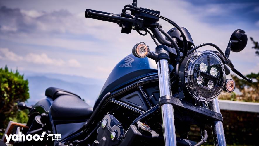 展現難以置信的靈活輕鬆!2020 Honda日系美式車型Rebel 500新北山區試駕! - 5