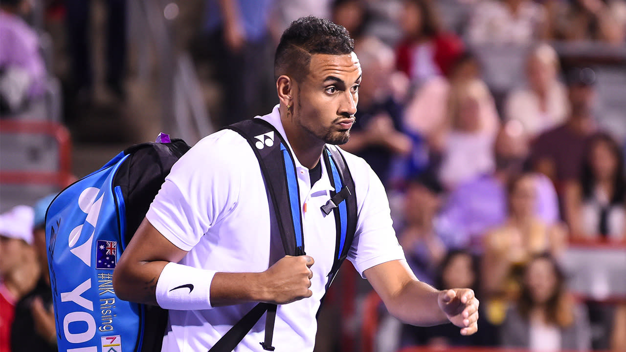 Nick Kyrgios' kind act amid epic Cincinnati meltdown