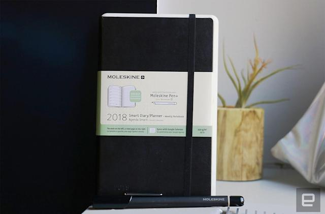 Moleskine's smart planner requires too much effort to use