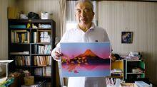 Aos 77 anos, ele cria desenho incrível através do Excel