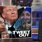 Trump racist tweets: Trevor Noah, Stephen Colbert and Jimmy Kimmel respond to president's xenophobic attacks