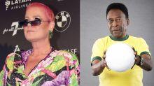 Xuxa Meneghel relembra traições de Pelé: 'Uma atrás da outra'