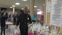 Cleveland Police deliver Easter Baskets to local shelters