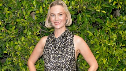January Jones reveals go-to beauty products