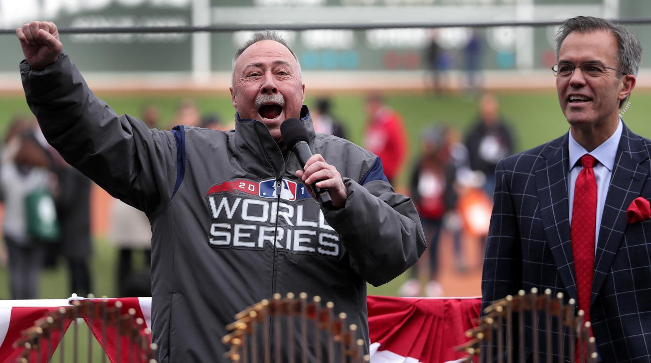 11e0f44d8b665 Red Sox Announcer Jerry Remy Announces He is  Cancer Free