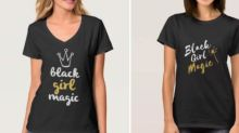 Company in trouble for using white models to sell 'black girl magic' T-shirts