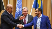 Yemen's warring parties agree ceasefire for key port at UN talks