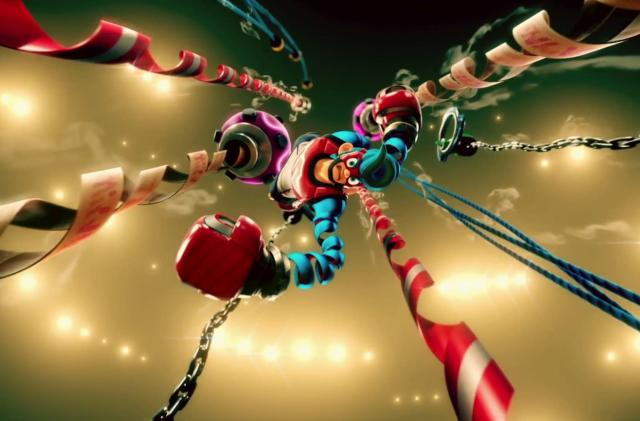 'Arms' brings shooter-esque boxing to the Nintendo Switch
