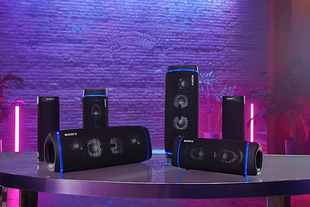 Sony debuts three new Extra Bass speakers for portable dance parties