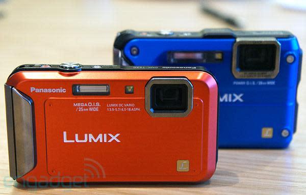Panasonic adds Lumix DMC-TS4 and DMC-TS20 to ruggedized camera line