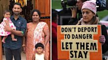Family moved to Christmas Island after given reprieve against deportation