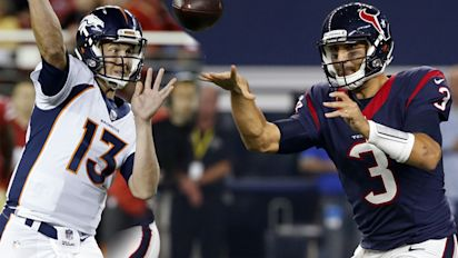 Broncos, Texans have more clarity at QB