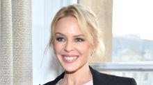 ¡Kylie Minogue radiante como el sol en la Fashion Week!