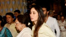 Photos: Bollywood comes together to observe the chautha ceremony of Krishna Raj Kapoor