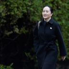 Huawei CFO Meng arrives in Vancouver court for third day of U.S. extradition hearing