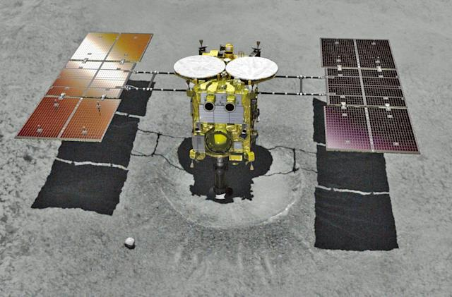 Japan's Hayabusa2 lands on asteroid Ryugu to collect samples
