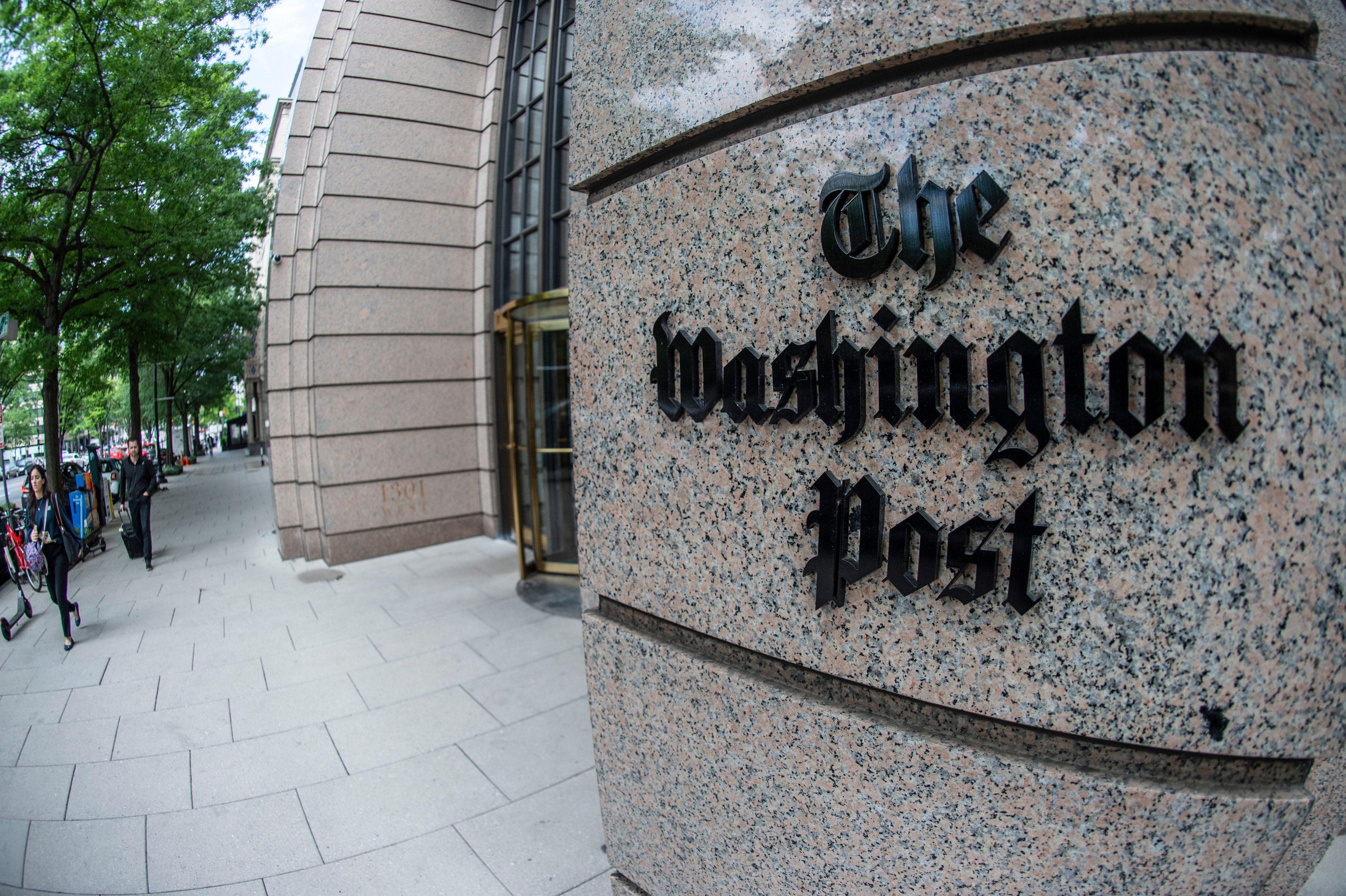 Washington Post reinstates reporter suspended over tweet
