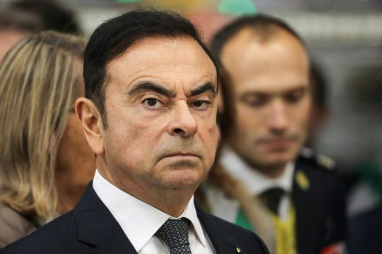 Once revered for rescuing struggling car manufacturer Nissan, Ghosn was arrested at Tokyo airport in 2018 in a case that sent shockwaves through the business community (AFP Photo/Ludovic MARIN)