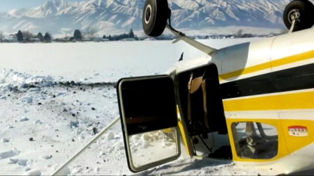 Caught on Tape: Plane Crashes During Birthday Ride