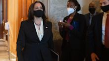 Republicans Congratulate Kamala Harris On Senate Floor For Unnamed Reason