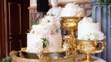Meghan and Harry's incredible wedding cake has been unveiled