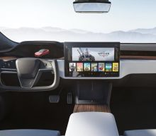 This is the new interior of Tesla's Model S and Model X