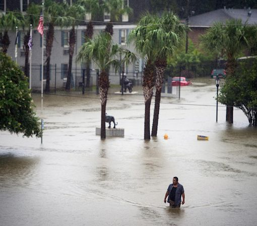 Rains Wreak Havoc on Louisiana