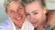 Ellen DeGeneres and Portia de Rossi share stunning makeup-free selfie from spring break