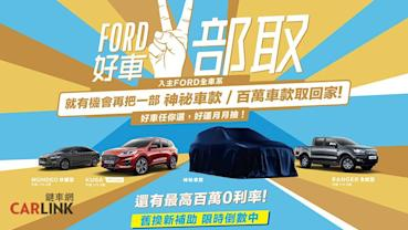 買一台有機會再抽中一台!11月Ford全車系優惠看這邊
