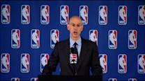 Raw Video: NBA Commission Adam Silver Announces Lifetime Ban Against L.A. Clippers Owner Donald Sterling