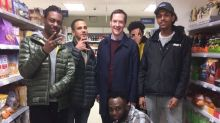 George Osborne supermarket photo: Former Chancellor papped as 'man of the people' posing with youths