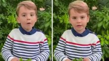 Prince Louis makes royal video debut with George and Charlotte