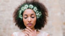 Why 2017's Cool Girl Bride Is Keeping Her Wedding Hair Natural And Textured