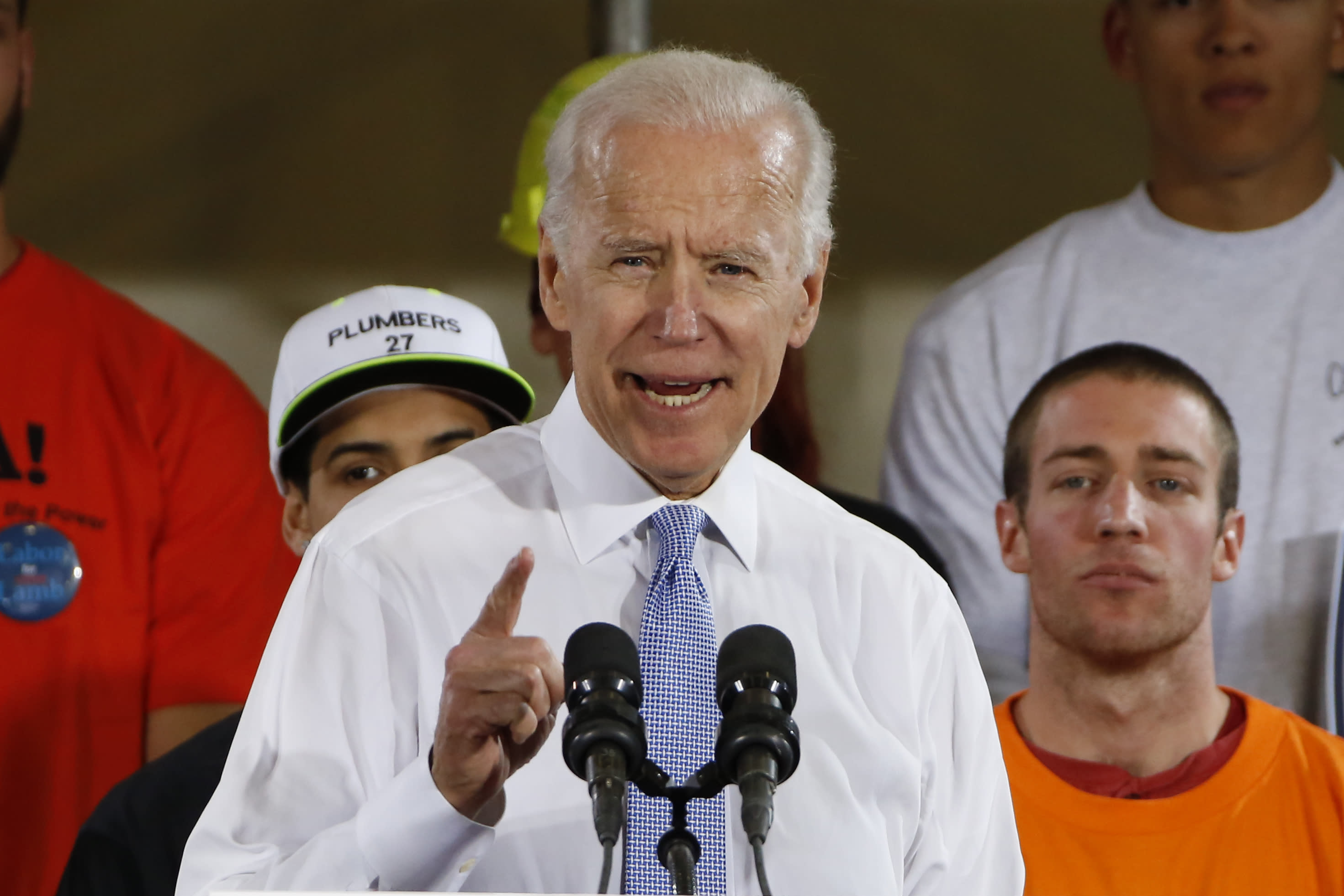 TRUMP Crazy Biden would go down crying if he assaulted me