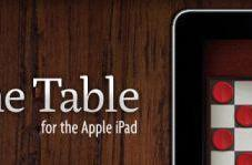First Look: Game Table for the iPad
