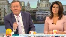 Piers says he 'manned up' for GMB return after surgery
