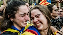 Photos Record A Historic Day As Catalonia Declares Independence From Spain