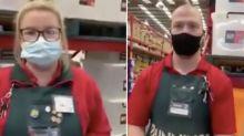 Coronavirus: Bunnings boss reacts to 'Karen' face mask video
