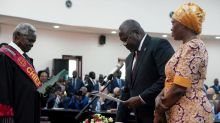 Now to end 'long suffering': South Sudan's former rebel leader sworn in as first vice president