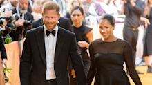 Meghan Markle celebrates Prince Harry's 35th birthday by sharing previously unseen photo of baby Archie