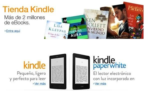 Kindle e-bookstore and self-publishing platform now available in Mexico