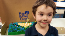 Only one friend attended this 6-year-old boy's birthday party