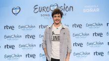 Sale a la luz una imagen de Miki, representante de España en Eurovisión 2019, con una estelada