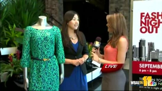 Ava previews Fashion's Night Out