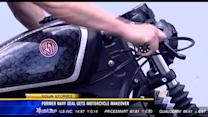Former Navy Seal get motorcycle makeover
