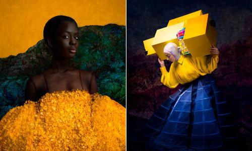'It's about finding a place': stunning portraits of women affected by the refugee crisis