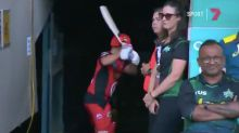 Aaron Finch sanctioned by Cricket Australia for chair outburst