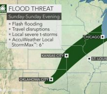 Heavy rain, locally severe storms to soak the central US this weekend